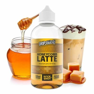 Drip Hacks / Honeycomb Latte / 50ml aroma