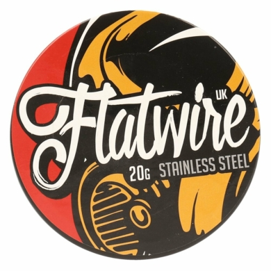 Flatwire UK / Stainless Steel 20AWG / 10ft