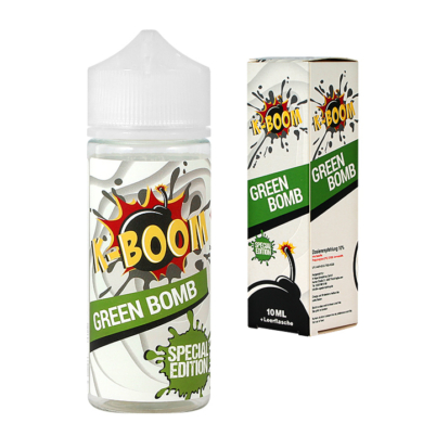 K-Boom / Special Edition / Green Bomb 2020 10ml aroma