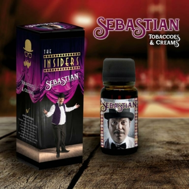 TVGC / The Insiders / Sebastian - Tobaccoes & Creams 11ml aroma
