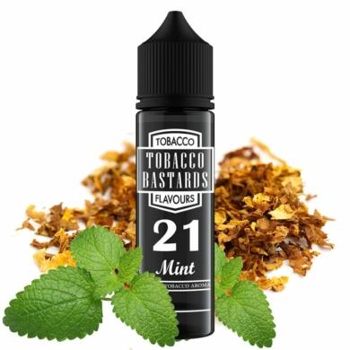 Tobacco Bastards / No. 21 Mint 12ml aroma / Longfill
