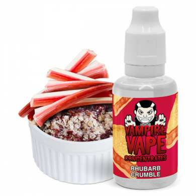 Vampire vape / Rhubarb Crumble Aroma