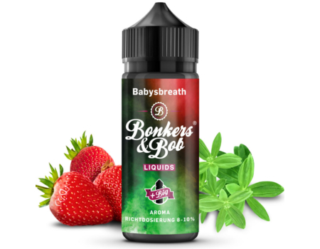 Bonkers & Bob / Babysbreath 10ml aroma