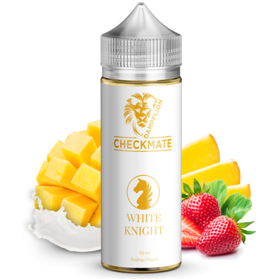 Dampflion / Checkmate White Knight 10ml aroma