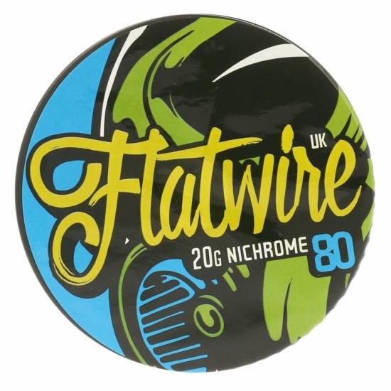 Flatwire UK / NiChrome80 20AWG / 10ft