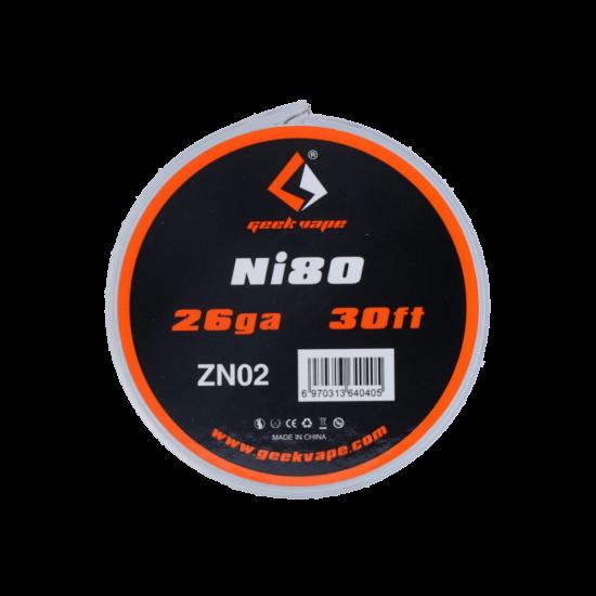 GeekVape NI80/26GA/0,4MM 30FT/9M