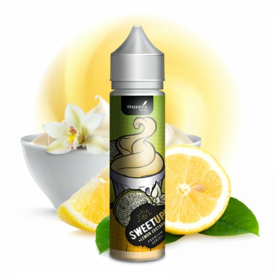Omerta Premium / SweetUp / Lemon Custard 20ml aroma
