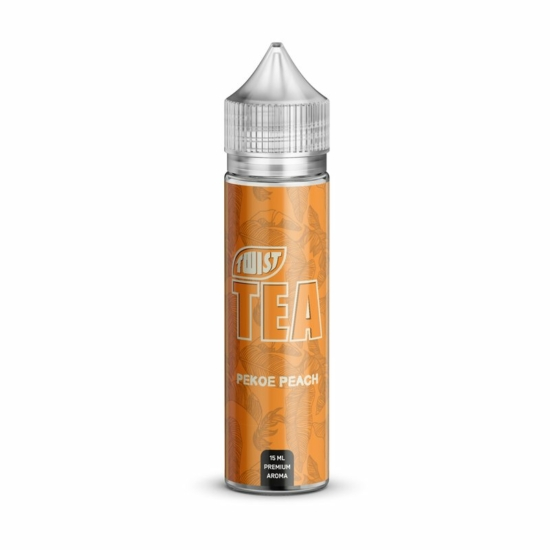 Twist Tea by PGVG / Pekoe Peach 15ml aroma