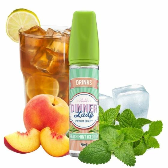Dinner Lady / Peach Mint Iced Tea 20ml aroma / Longfill