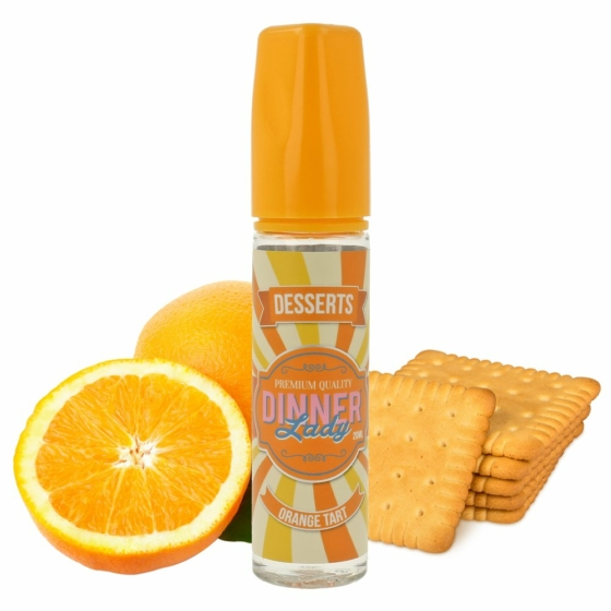 Dinner Lady / Orange Tart 20ml aroma / Longfill