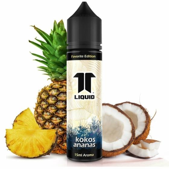 ELF / Favorite Edition / Kokos Ananas / 15ml aroma