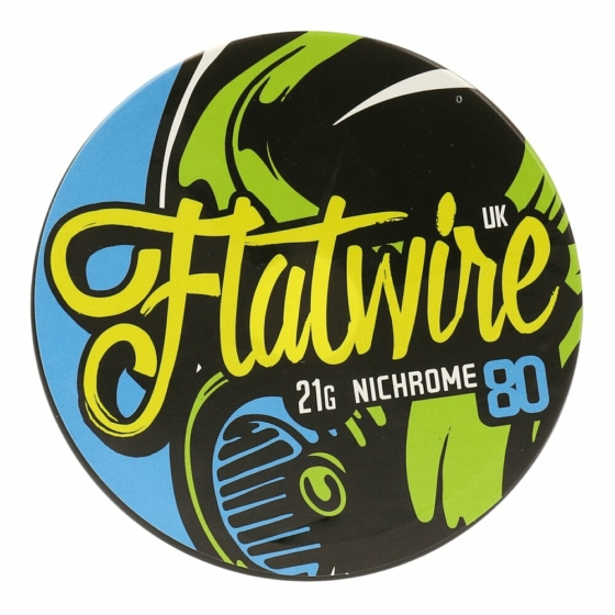 Flatwire UK / NiChrome80 21AWG / 10ft