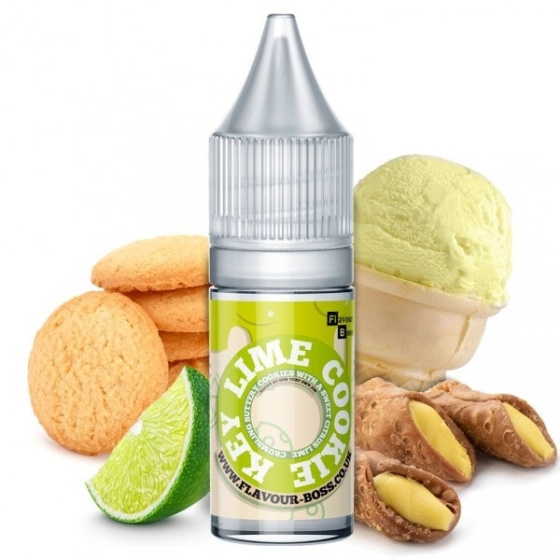 Flavour Boss / Key Lime Cookie 10ml aroma