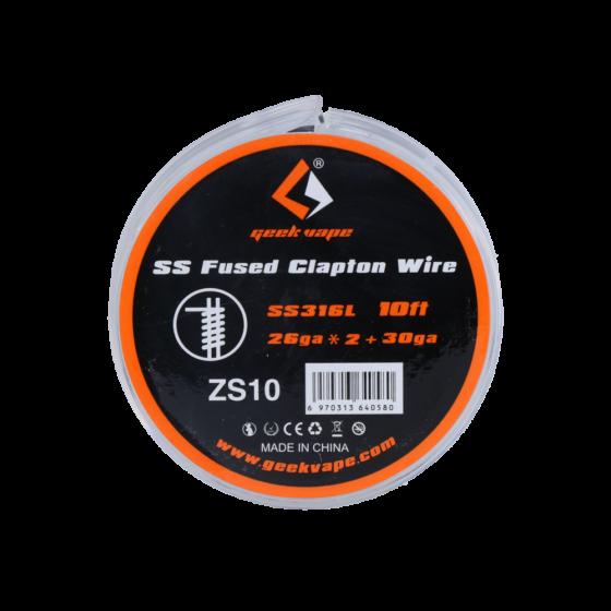 GeekVape SS Fused Clapton 26GA+*2+30GA 15FT/4,57M ZS10