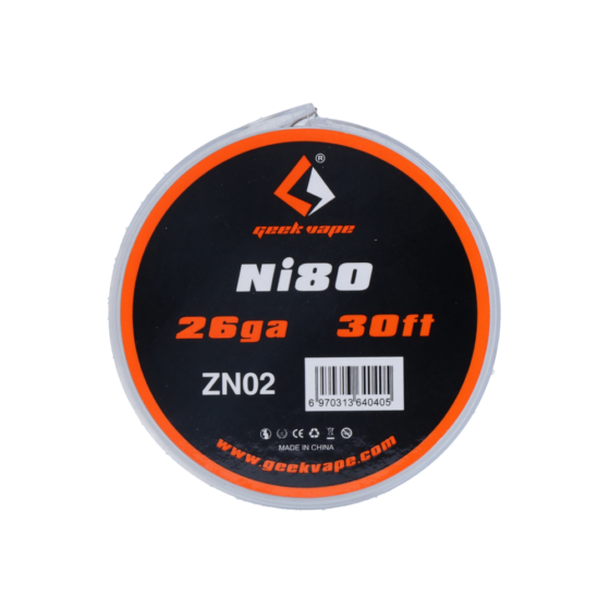 GeekVape NI80/26GA/0,4MM 30FT/9M ZN02