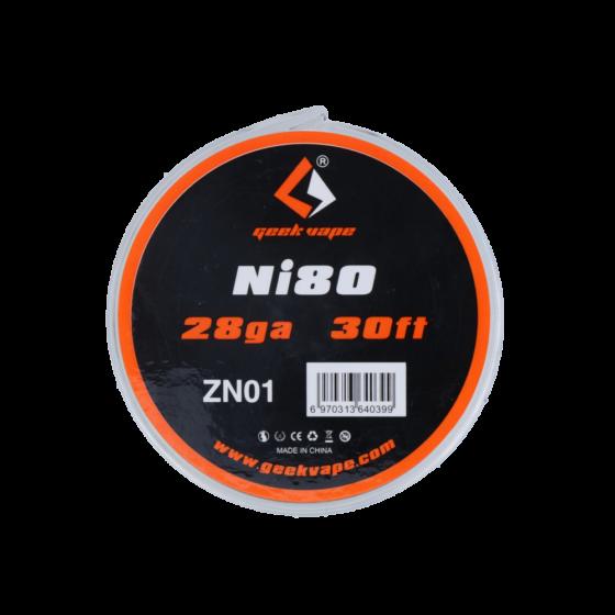 GeekVape NI80/28GA/0,3MM 30FT/9M ZN01