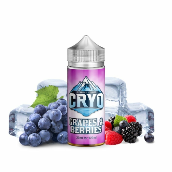 Infamous / CRYO / Grapes & Berries 20ml aroma