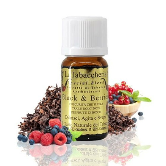 La Tabaccheria / Special Blend / BLACK and BERRIES 10ml aroma