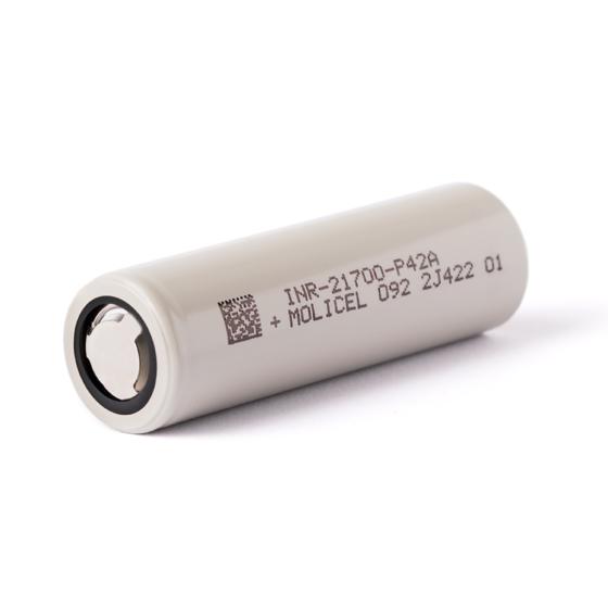 Molicel INR21700-P42A, 4200mAh 30A / max. 45A