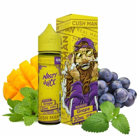 Nasty Juice / Cush Man Grape 20ml aroma