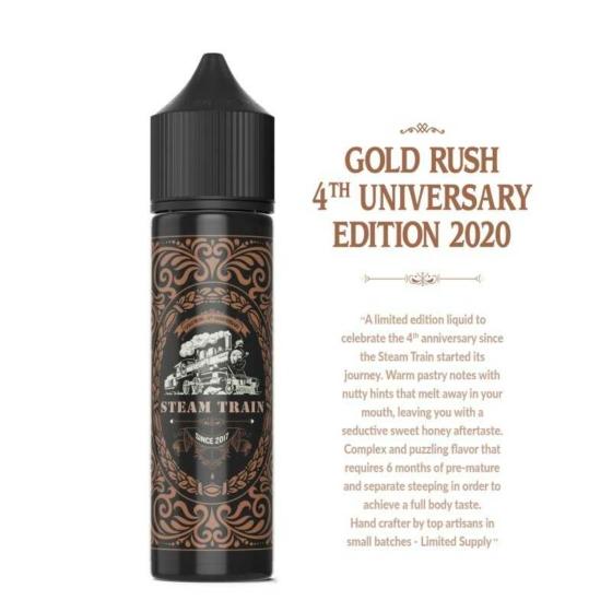 Steam Train Premium / Gold Rush 20ml aroma / LIMITÁLT