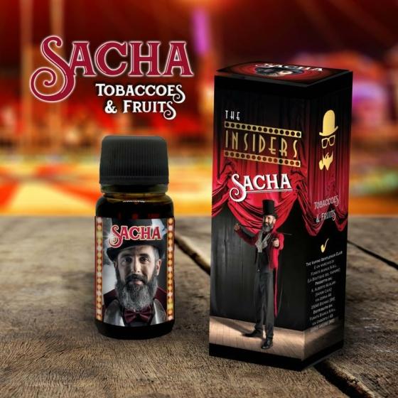 TVGC / The Insiders / Sacha – Tobaccoes & Fruits 11ml aroma