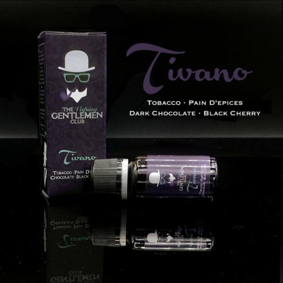 TVGC / Tivano - Tobacco, Pain D'epices, Dark Chocolate & Dark cherry 11ml aroma