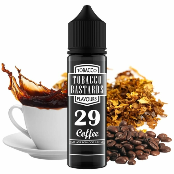 Tobacco Bastards / No. 29 Coffee 12ml aroma / Longfill