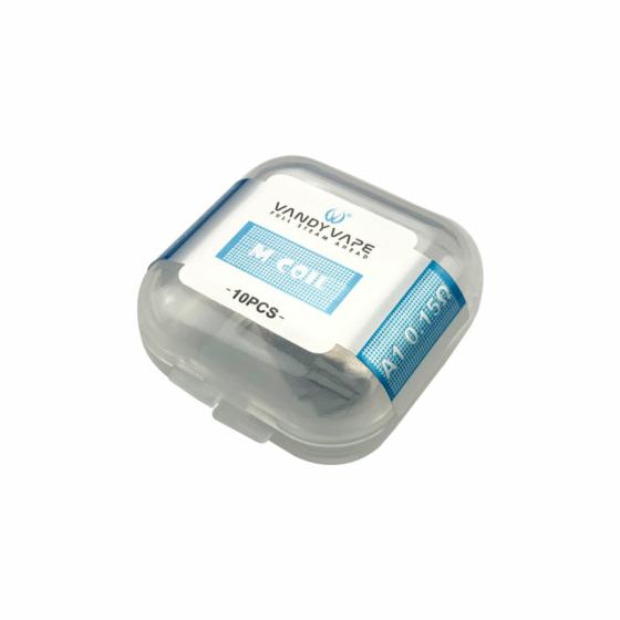 VandyVape / 10 х Mesh Coil / Kanthal A1 Dual M - 0,15 Ohm