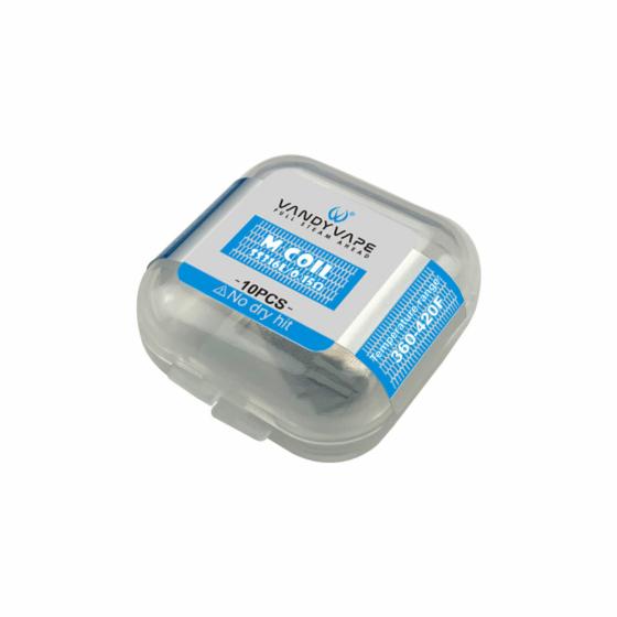 VandyVape / 10 х Mesh Coil / SS316L - 0,15 Ohm