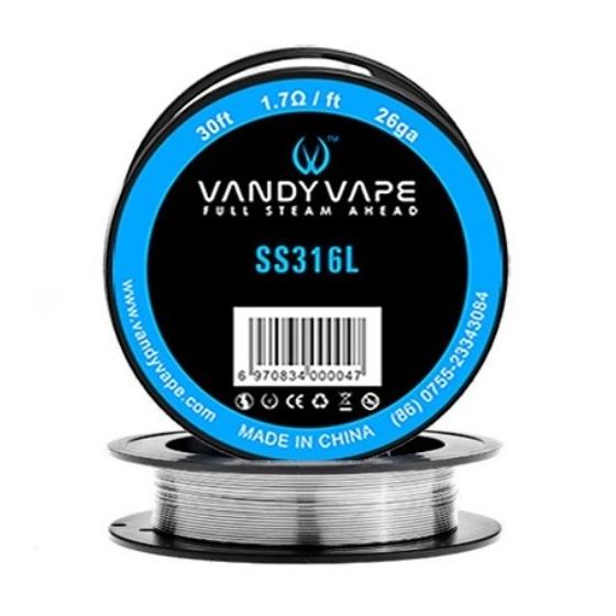 VandyVape SS316l/26GA/0,4MM 30FT/9M