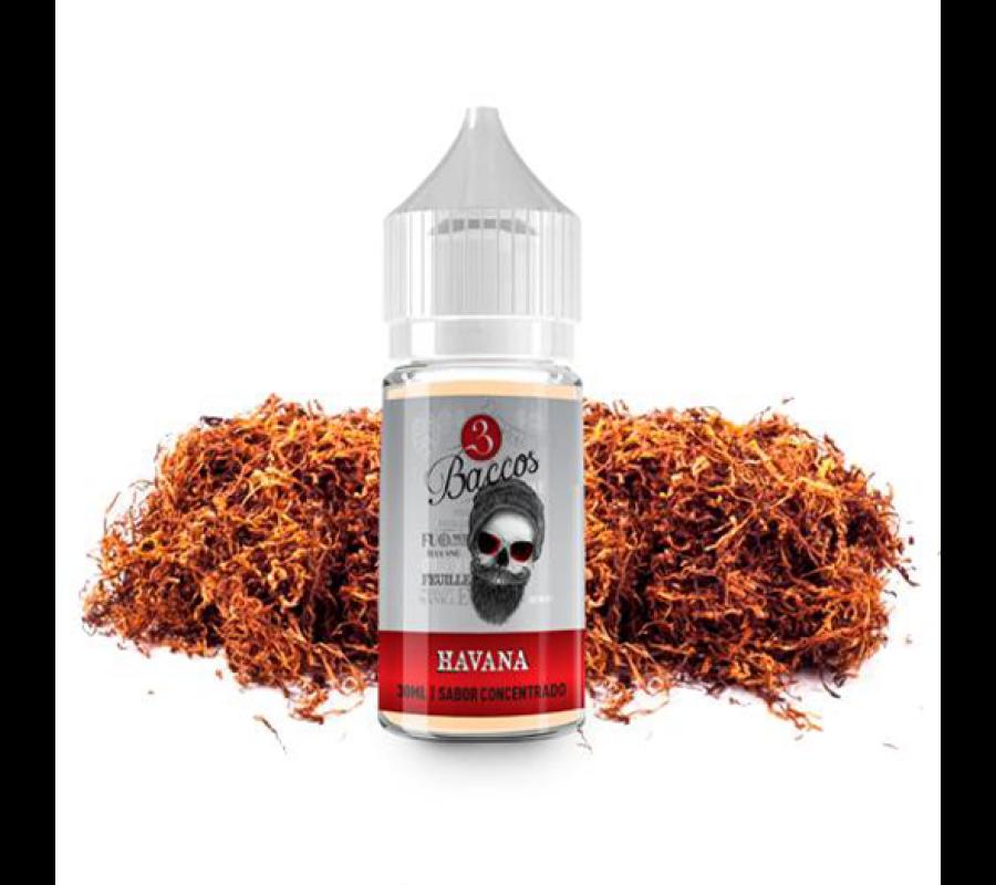 3 Baccos / Havana 30ml aroma