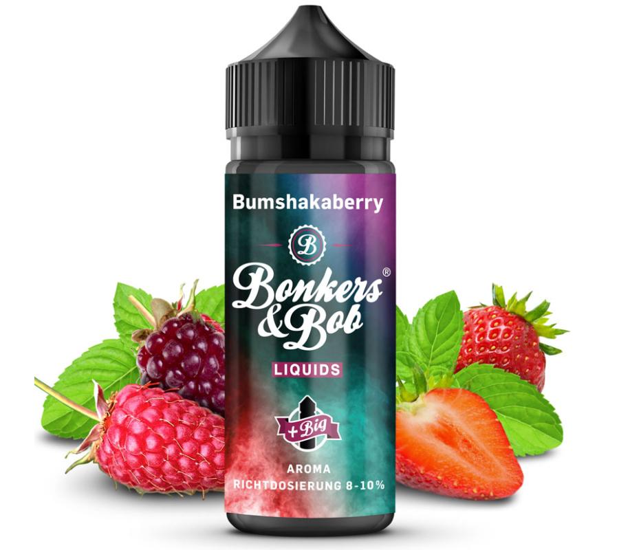 Bonkers & Bob / Bumshakaberry 10ml aroma